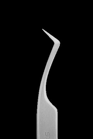 Pinzas profesionales para pestañas STALEKS PRO EXPERTO 41 TIPO 2 (curva de angulo de 40 grados)